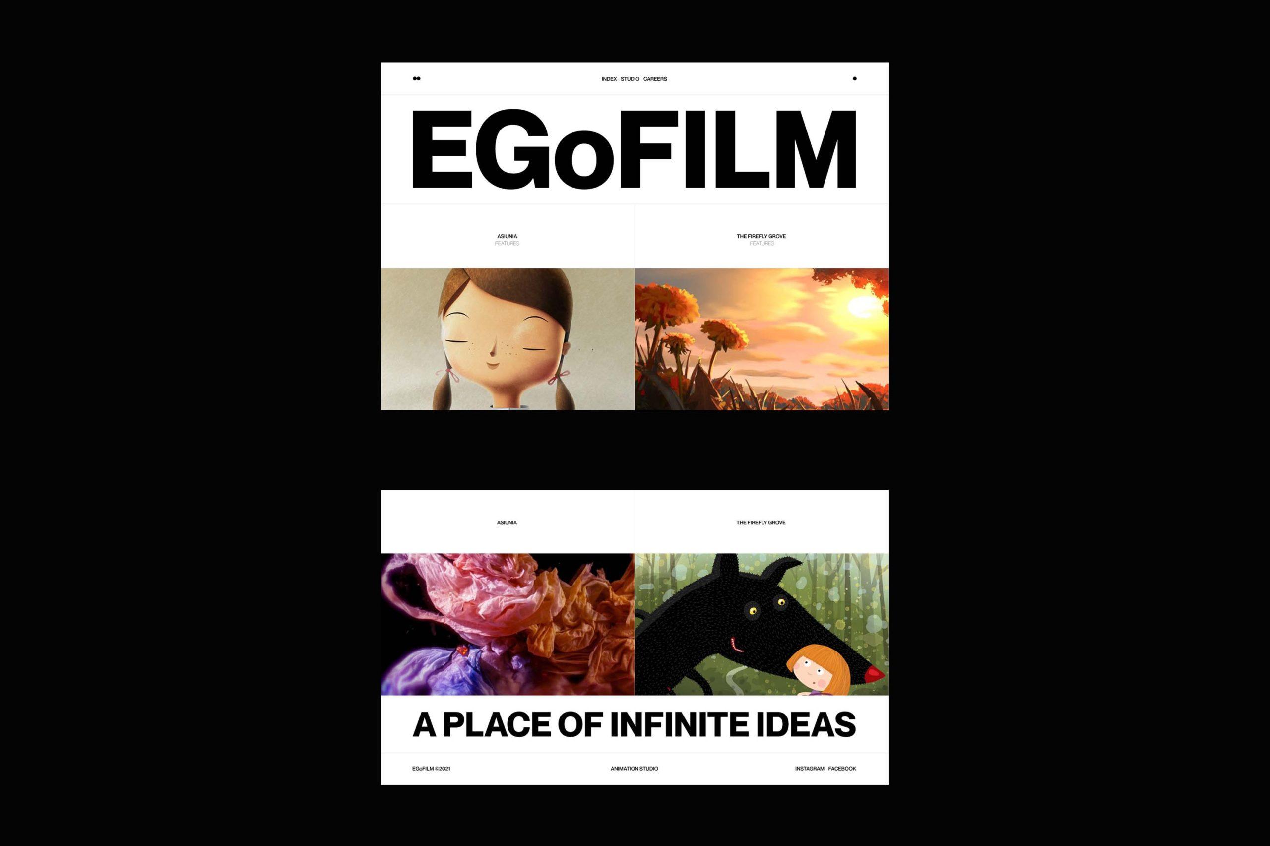EGoFILM website